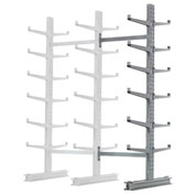 "Cantilever Rack Double Sided, Add-On Unit Medium Duty, 72"" W  x 78"" D x 10' H, 7600 Lbs Capacity"