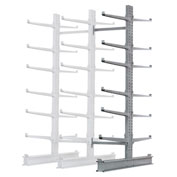 "Cantilever Rack Double Add-On Unit Extra Heavy Duty, 72"" W  x 82"" D x 10' H, 31600 Lbs Capacity"
