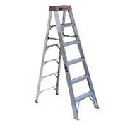 Louisville 8' Type 1A Aluminum Step Ladder - AS100-8