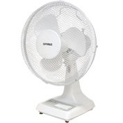 "TPI 12"" Oscillating Desk Fan ODF-12 1200 CFM"