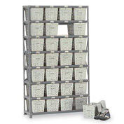 Basket 65800 Rack Locker For 21 Baskets 40x13x70