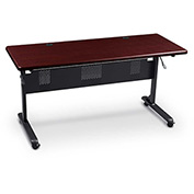"Flipper Training Table, Rectangular, 36"" x 24"" Mahogany"