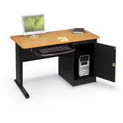LX48 Computer Workstation with Locking Cabinet