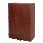 Wood Laminate Security Computer Cabinet