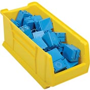 "Akro-Mils Super-Size AkroBin® 30287 - Stacking Bin 11""W x 23-7/8""D x 10""H Yellow - Pkg Qty 4"