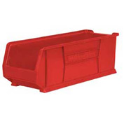 "Akro-Mils Super-Size AkroBin® 30292 - Stacking Bin 11""W x 29-7/8""D x 10""H Red - Pkg Qty 4"