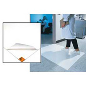 """Clean Room Mat 24""""X36"""" White Case Of 4"""