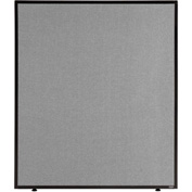 "Interion™ Office Partition Panel, 36-1/4""W x 42""H, Gray"