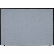 "Interion™ Office Partition Panel, 60-1/4""W x 42""H, Blue"