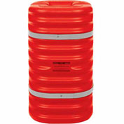 "Eagle Column Protector, 10"" Column Opening Orange, 1710OR"