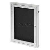 "United Visual Products One-Door Outdoor Letter Board - 24""W x 36""H"