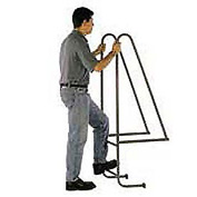 "8 Step Steel Dock Ladder - 18""W x 132""H"