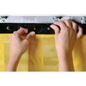 "Replacement Aleco® Air-Flex® Yellow Insect Barrier Strip 400718 8""W x 8'H"
