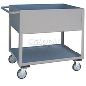 Jamco Extra Deep Shelf All Welded Steel Service Cart NA248 1200 Lb. Cap.