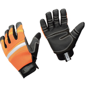 Ergodyne® ProFlex® 872 Hi-Vis General Purpose Work Gloves, Orange, Medium