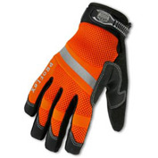Ergodyne® ProFlex® 876WP Hi-Vis Thermal Waterproof Work Gloves, Orange, XL