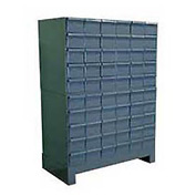 """Durham Steel Drawer Cabinet 028-95 - With 60 Drawers 34""""W x 17-3/4""""D x  48""""H"""
