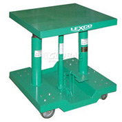"Lexco® - Wesco® Lift Table 492202 30""L x 30""W 2000 Lb. Capacity"