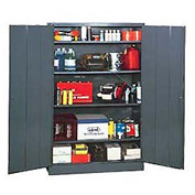 EDSAL Economical Storage Cabinet: Unassembled - 48x24x78 - Gray