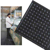 "Deep Freeze Rubber Antifatigue Mat 3' X 60' 3/8"" Thick Black"