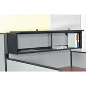 "Interion™ 60"" Overhead Cabinet In Black"