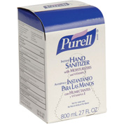 Purell Bag-In-Box Hand Sanitizer Original Formula Refill 12 Refills/Case 9657-12