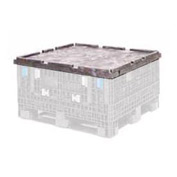 ORBIS Lid CKD4845 For BulkPak Folding Bulk Shipping Container 48 x 45 Black