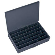 Durham Steel Scoop Compartment Box 099-95 - Adjustable Horizontal Compartments - Pkg Qty 4