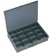 Durham Steel Scoop Compartment Box 131-95 - Adjustable Compartments 18 x 12 x 3 - Pkg Qty 4