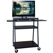 Buhl Wide Body Flat Screen Monitor Cart