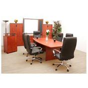 Conference Table Boat Shape 71 x 35 Cherry