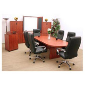 Regency Conference Table - Racetrack 120 x 47 - Cherry - Legacy Series