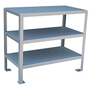 36 X 18 2 Shelf Machine Table