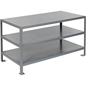 36 X 24 2 Shelf Machine Table