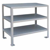 48 X 30 3 Shelf Machine Table