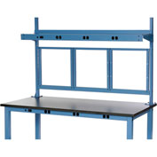 "48""W Panel Mounting Kit - Blue"