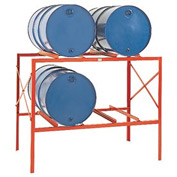 Modern Equipment MECO DR4 Drum Storage Rack - 4 Drum Storage