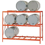 Modern Equipment MECO DR9 Drum Storage Rack - 9 Drum Storage