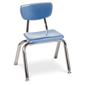 Virco® 3012 Martest 21® Hard Plastic Chair - Light Blue - Pkg Qty 4
