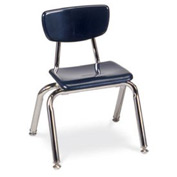 Virco® 3012 Martest 21® Hard Plastic Chair - Navy - Pkg Qty 4