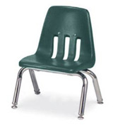 Virco® 9010 Classic Series™ Classroom Chair - Forest Green Vented Bac - Pkg Qty 4