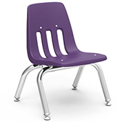 Virco® 9010 Classic Series™ Classroom Chair - Purple Vented Back - Pkg Qty 4