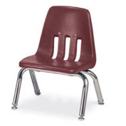 Virco® 9010 Classic Series™ Classroom Chair -Burgundy Vented Back - Pkg Qty 4