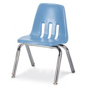 Virco® 9012 Classic Series™ Classroom Chair - Light Blue Vented Back - Pkg Qty 4