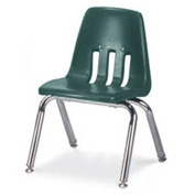 Virco® 9012 Classic Series™ Classroom Chair Forest Green Vented Back - Pkg Qty 4
