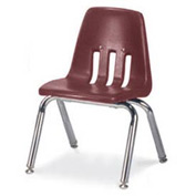 Virco® 9012 Classic Series™ Classroom Chair - Burgundy Vented Back - Pkg Qty 4