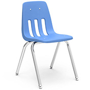 Virco® 9018 Classic Series™ Classroom Chair - Light Blue Vented Back - Pkg Qty 4