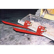 Caldwell Clamp-On Bucket Forks COF-1.25 - 2500 Lb. Capacity - Pair