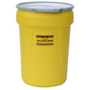 Eagle 1602 Plastic Salvage Drum - 30 Gallon