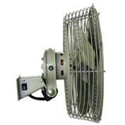"TPI 12"" Low Velocity Navy Style Workstation Fan N-12 1/12 HP 1540 CFM"